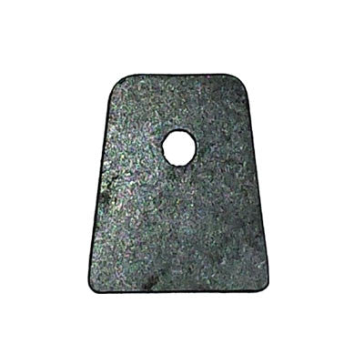 "Flat End Chassis Tab 1/4"" Hole"