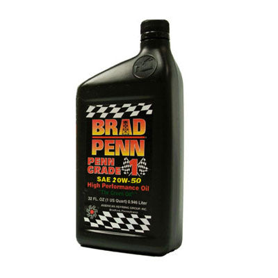 Brad Penn 20W-50 High Performance Oil  1 Qt.