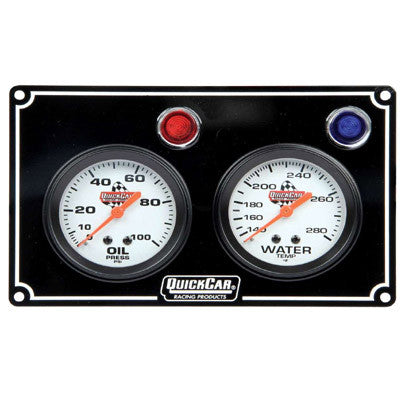 Gauge Panel Assembly Oil Pressure//Water Temp