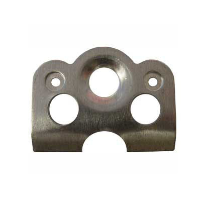 L/W Contoured Recessed Center Weld Plate For 1 3/8
