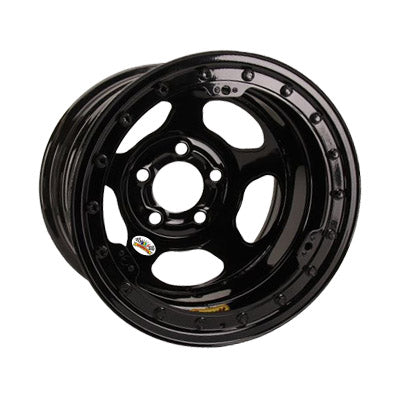 Bassett 15X8 Wissota Inertia Advantage Beadlock Black 5 on 5