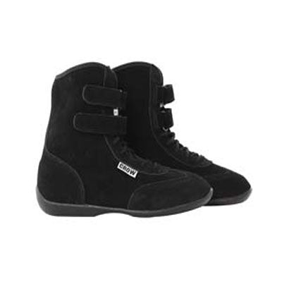 Crow High Top Suede Driving Shoes