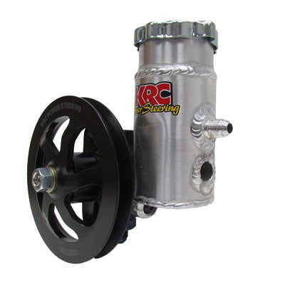 Cast Iron Steering Pump With 6.0 V-Belt Pulley W/Bolt-On Tank