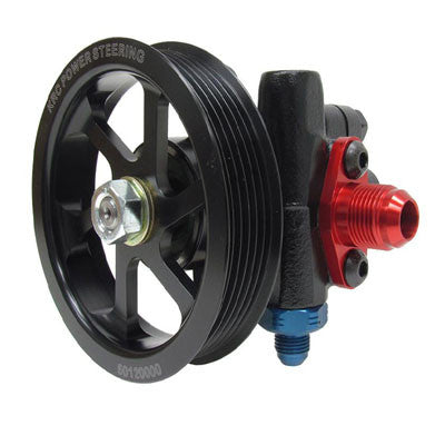 Cast Iron Steering Pump With 4.2 6-Rib Serpentine Pulley