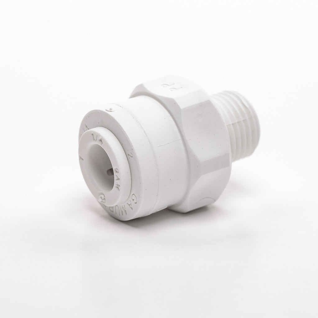 "Male Adapter (1/8"" NPT x 1/4"" Tubing)"