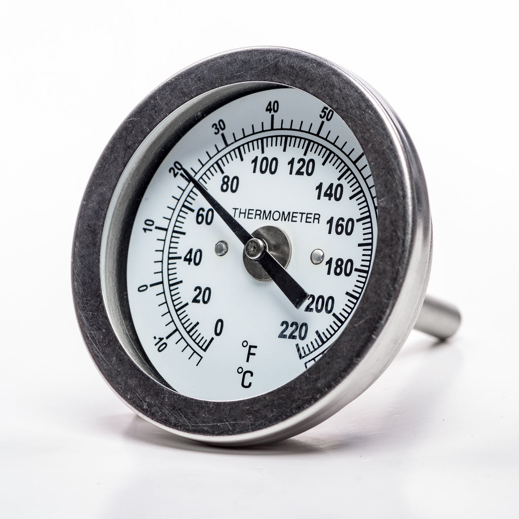 "Back-Mount Temperature Gauge (1/4"" NPT)"