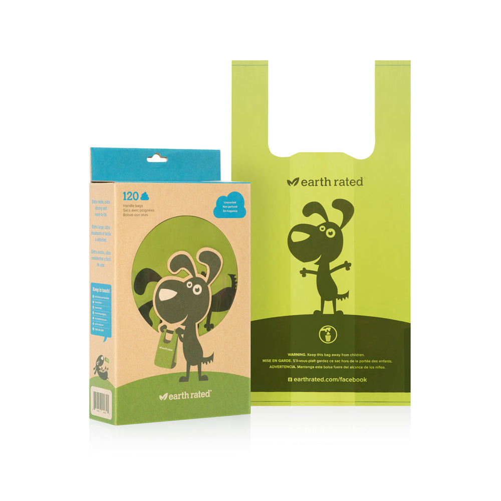 Earth Rated - 120ct Poop Bags w Handle