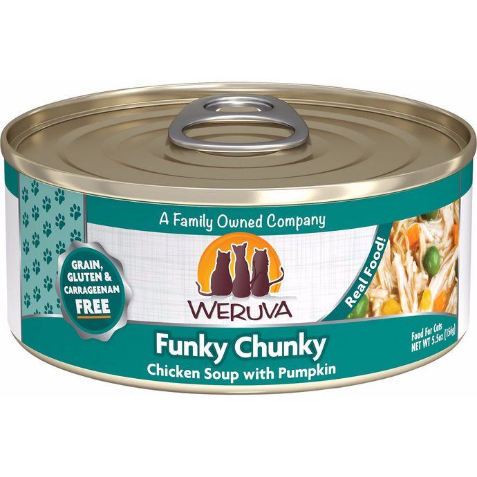 Weruva Cat - Funky Chunky Chicken Soup with Pumpkin