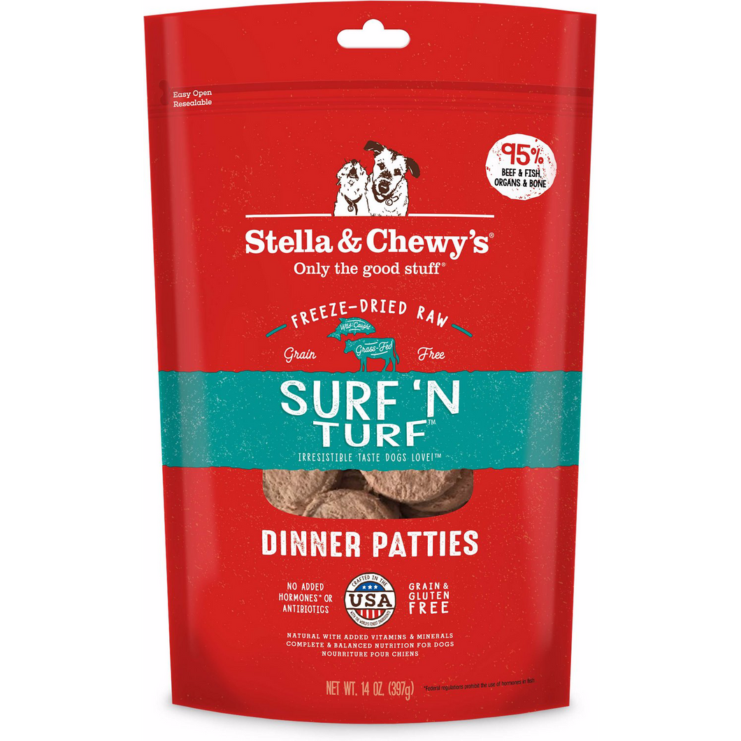 Stella & Chewy's -  Freeze Dried Surf'n Turf Dinner