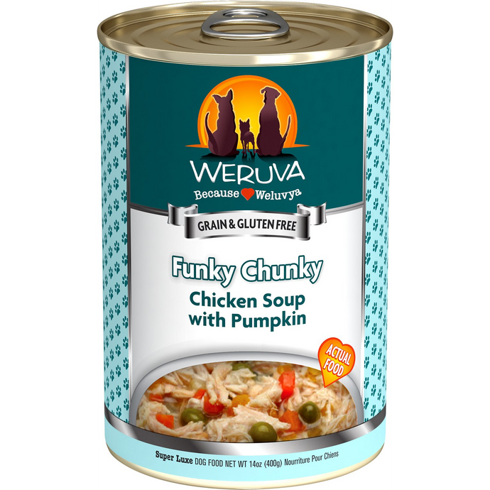 Weruva - Funky Chunky Chicken Soup with Pumpkin