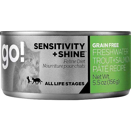 Go! Cat - Sensitivity & Shine Trout Salmon