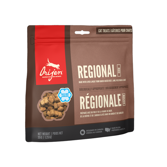 Orijen Cat Treats - Regional Red