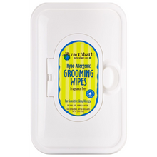 Earthbath Grooming Wipes - Hypoallergenic