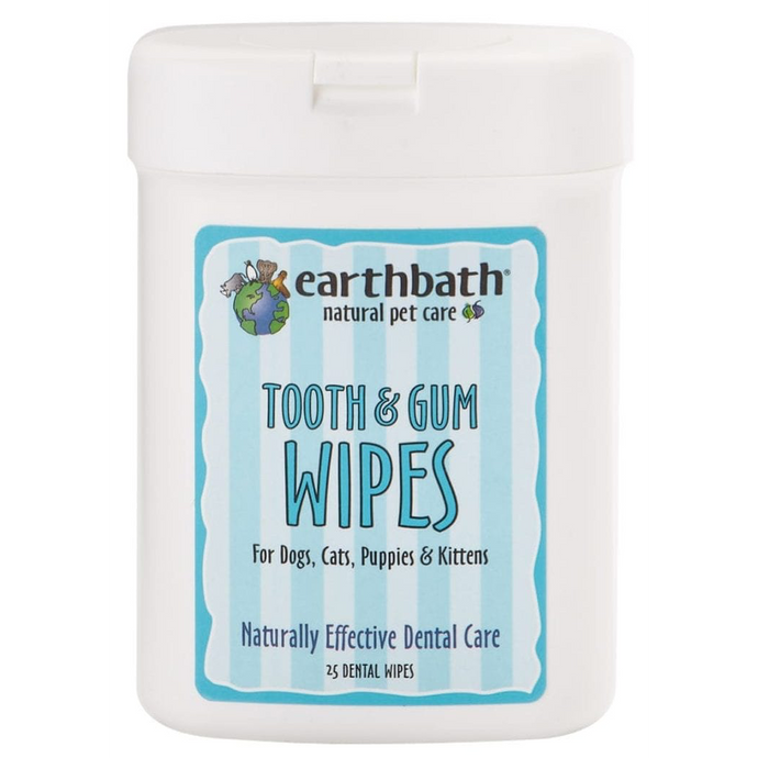 Earthbath - Tooth & Gum Wipes