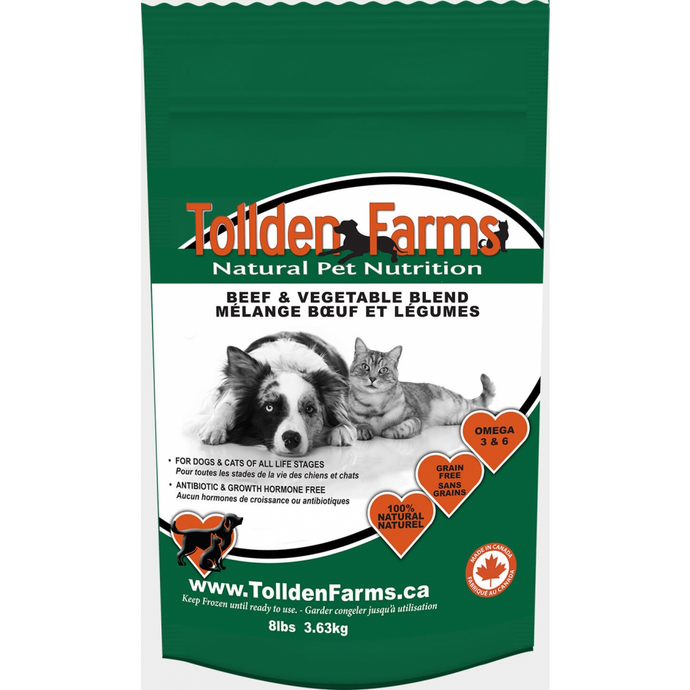 Tollden Farms - Beef & Vegetable Blend