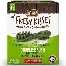 Merrick - Fresh Kisses Double-Brush Treats