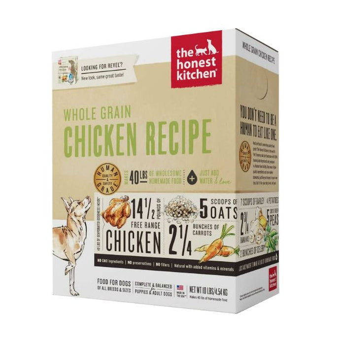 Honest Kitchen - Whole Grain Chicken Dehydrated Dog Food