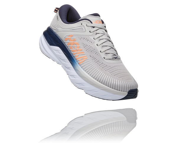 HOKA ONE ONE BONDI 7 - GREY - 1110519LRBI