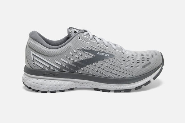 BROOKS GHOST 13 - WHITE - WIDE - 1203381D051