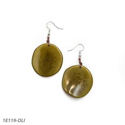 TAGUA NEW EARRINGS OLIVE - 1E119OLI
