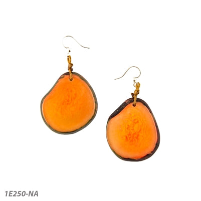 *SALE* TAGUA AMIGAS EARRINGS ORANGE - 1E250NA