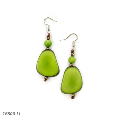 TAGUA ALMA EARRINGS - LIME - 1E800LI