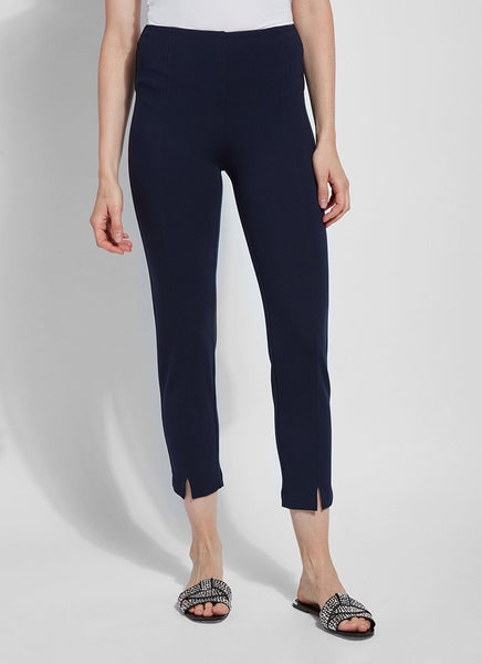 LYSSE WISTERIA ANKLE PANT NAVY - 2402358