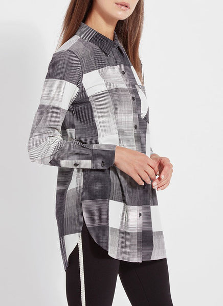 LYSSE SCHIFFER PLAID BLACK AND WHITE - 2492165