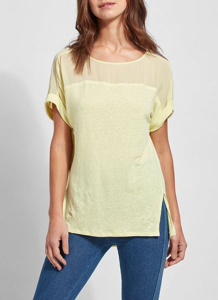 *SALE* LYSSE JIRO TOP CITRUS YELLOW - 2562347