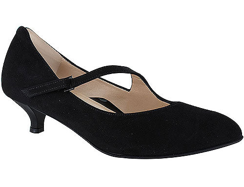 *FINAL SALE BEAUTIFEEL LILOU BLACK SUEDE - 4427710
