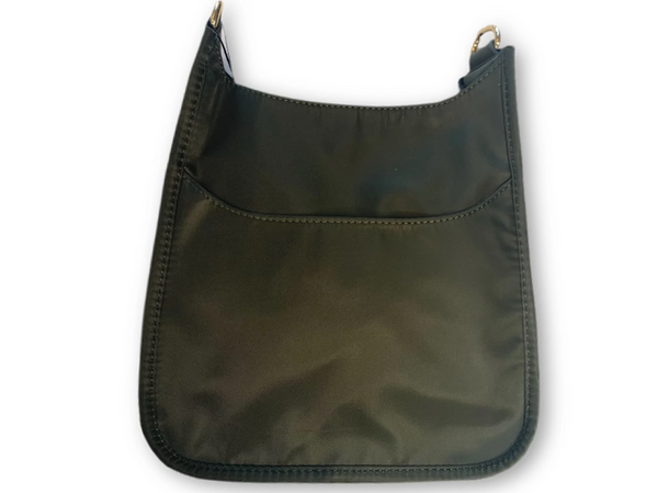 AHDORNED NYLON BAG W/O STRAP - ARMY GREEN - 72531NARM