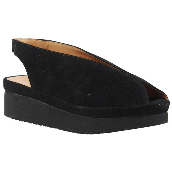 L'AMOUR DES PIEDS AHNDRAY BLACK SUEDE - AHNDRAY1