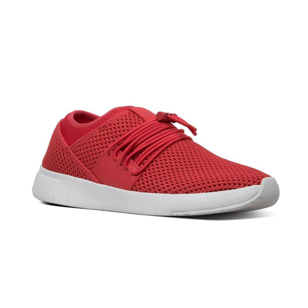 FIT FLOP AIRMESH LACE UP RED - R64695