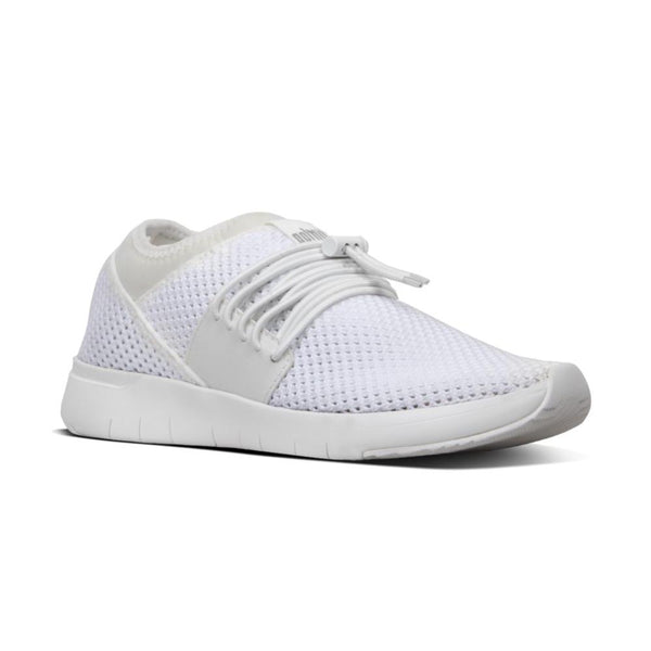 *FINAL SALE FIT FLOP AIRMESH LACE UP WHITE - R64194