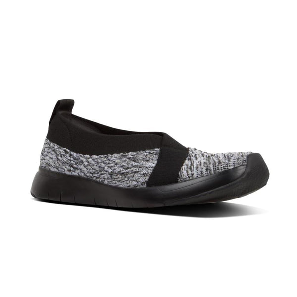 FIT FLOP ARTKNIT BALLERINA BLACK MIX - Q77231
