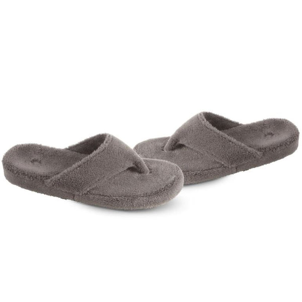 ACORN SPA THONG - GREY - A10454GRY