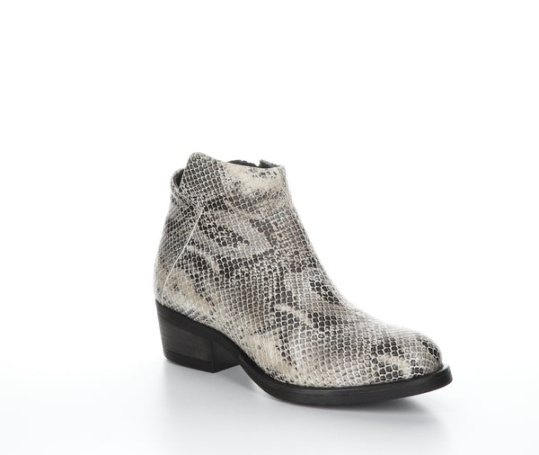 *SALE* BOS & CO ELITE SNAKE PRINT OFF WHITE - 29438