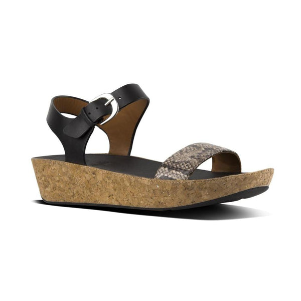 FITFLOP BON II BACK STR BLACK SNK - K24586