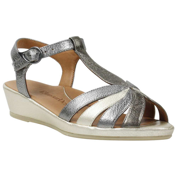 *FINAL SALE L'AMOUR DES PIED / REMAC BOQIN METALLIC -BOQIN