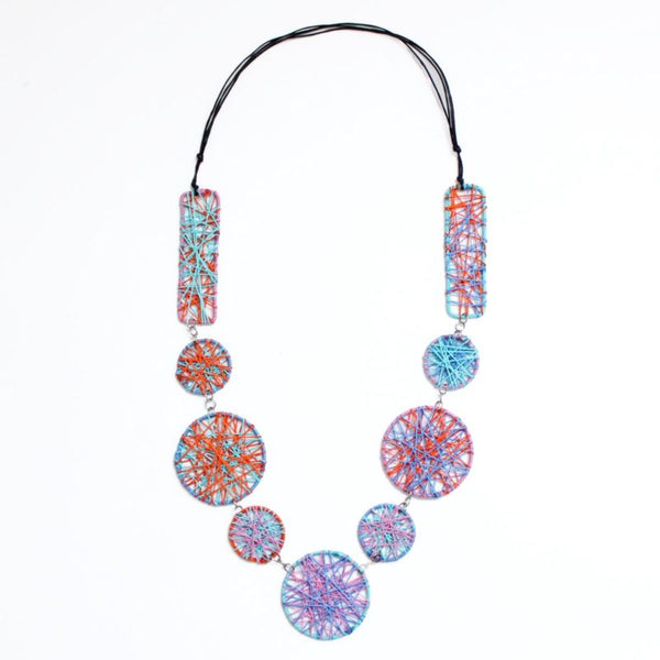 SYLCA PAULA STATEMENT NECKLACE - MULTI - BP21N04MUL