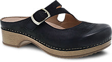 DANSKO BRITNEY BURNISH BLACK NUBUCK - 9422471600