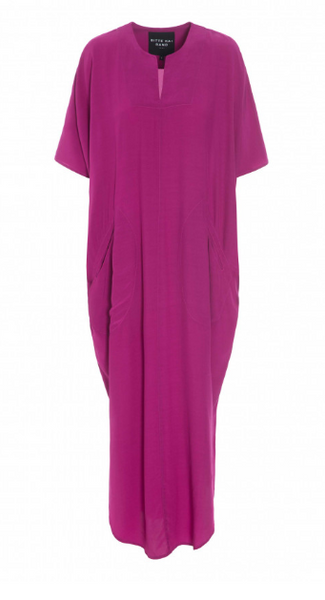BITTE KAI RAND WHIRLING VISCOSE LONG DRESS - PINK 121448032