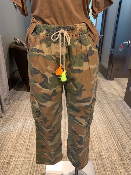 *SALE* SUZY D LONDON CANDY CAMO PANT - CANDY