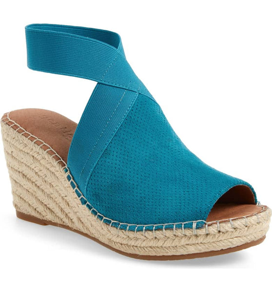 GENTLE SOULS/KENNETH COLE COLLEEN ESPADRILLE TURQUOISE - GSS8002SUTQ