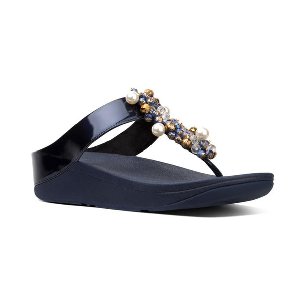 FIT FLOP DECO TOE THONG NAVY - N46399