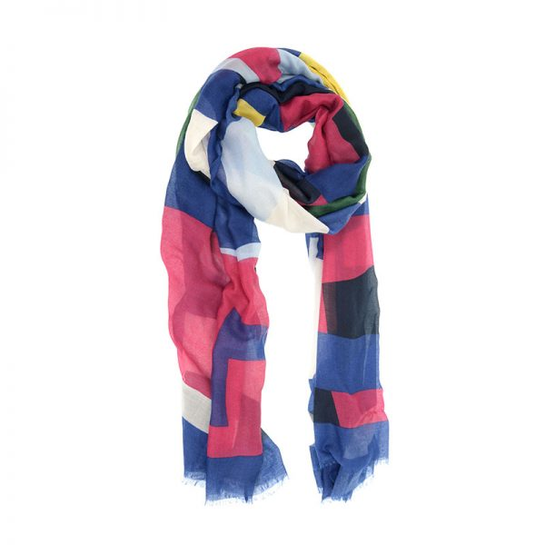 JOY ACCESSORIES GEOMETRIC SCARF - E313807
