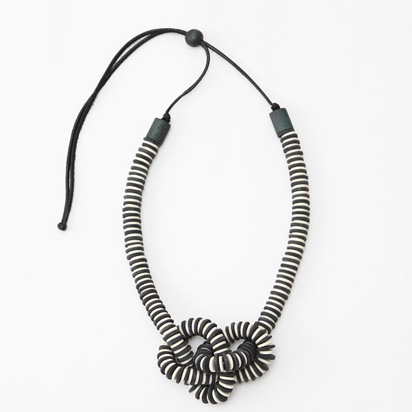 *SALE* SYLCA ANALISE NECKLACE CHARCOAL - EW20N04CHR