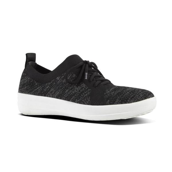 FIT FLOP F-SPORTY UBERKNIT SNEAKER BLACK - O96001