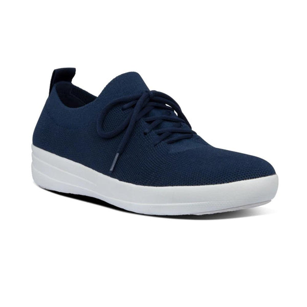 !NEW! FIT FLOP F SPORTY UBERKNIT SNEAKER NAVY - O96399