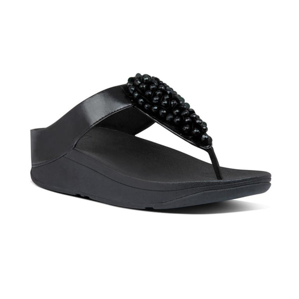 FIT FLOP FINO SEQUIN T/T BLACK - BC4090